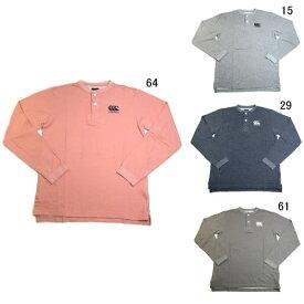 長袖 Tシャツ コットン カンタベリー ラグビーウェア メンズ ロングスリーブ ラガー ティー 限定モデル セール RA49907
