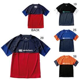 カンタベリー 半袖 Tシャツ ビッグ 大きいサイズ メンズ canterbury トレーニング ティ ラグビー トレーニング スポーツ ウェア 練習着 RG30042B セール