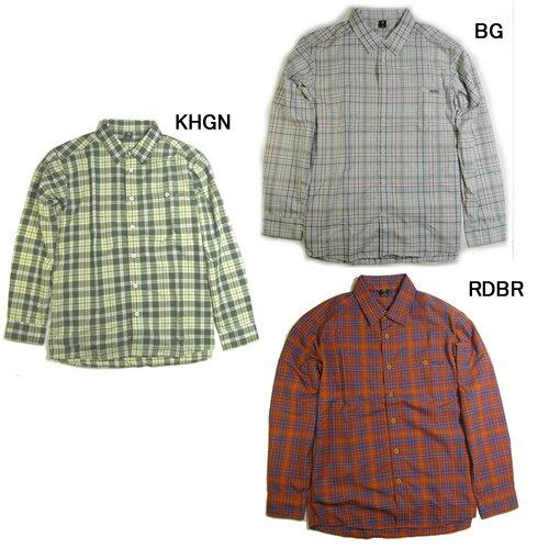 モンベル【mont-bell】WIC.ライト シングルポケット ロングスリーブシャツ Men's #1114280