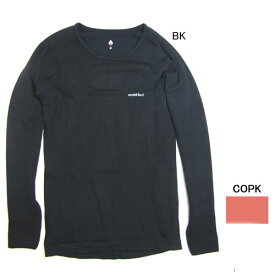 モンベル【mont-bell】女性用ジオラインEXPラウンドネックシャツ Women's 1107171