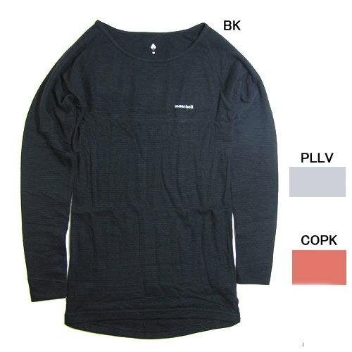 モンベル【mont-bell】ジオラインM.W. ラウンドネックシャツ Women's #1107283