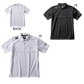 半袖 ポロシャツ ビッグ 大きいサイズ メンズ カンタベリー CANTERBURY ショートスリーブ メディア ポロ ラグビー トレーニング スポーツ カジュアル ウェア RP39522 セール