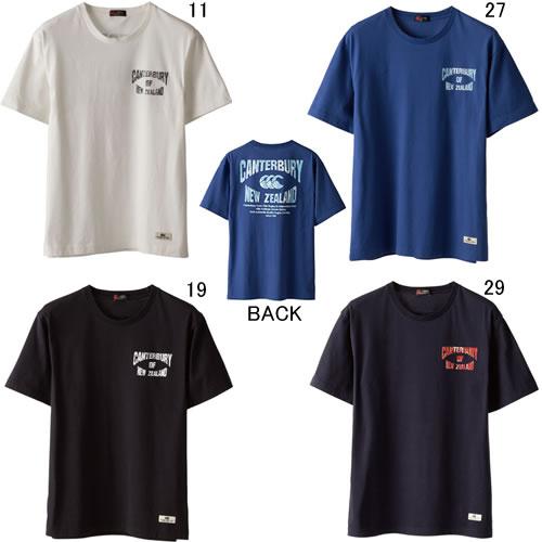 カンタベリー【CANTERBURY】S/S Tシャツ 2017SS 特価セール RA37405
