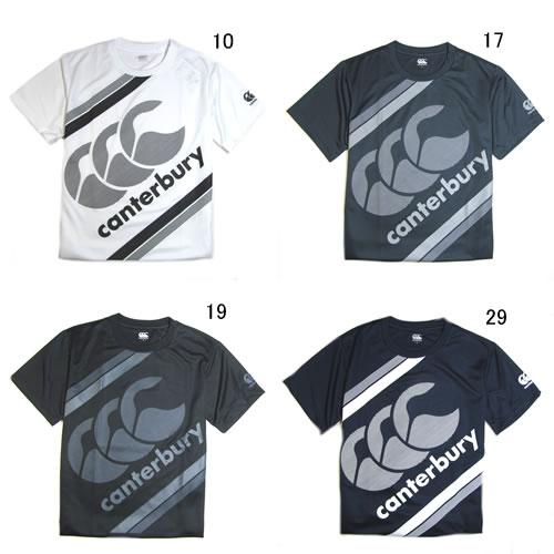 Tシャツ 半袖 メンズ カンタベリー canterbury 限定モデル ラグビー ウェア 男性用 スポーツ 半袖シャツ クルーネック T-SHIRT 吸汗速乾/RA38183