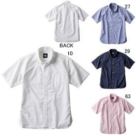 半袖 ワイシャツ メンズ カンタベリー canterbury ショートスリーブ ストレッチ ボタンダウン シャツ ラグビー スポーツ カジュアル ウェア セール RA39072