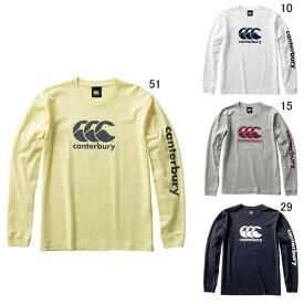 長袖 ティーシャツ カンタベリー canterbury メンズ ロングスリーブ Tシャツ ラグビー ウェア スポーツ カジュアル RA40085 セール