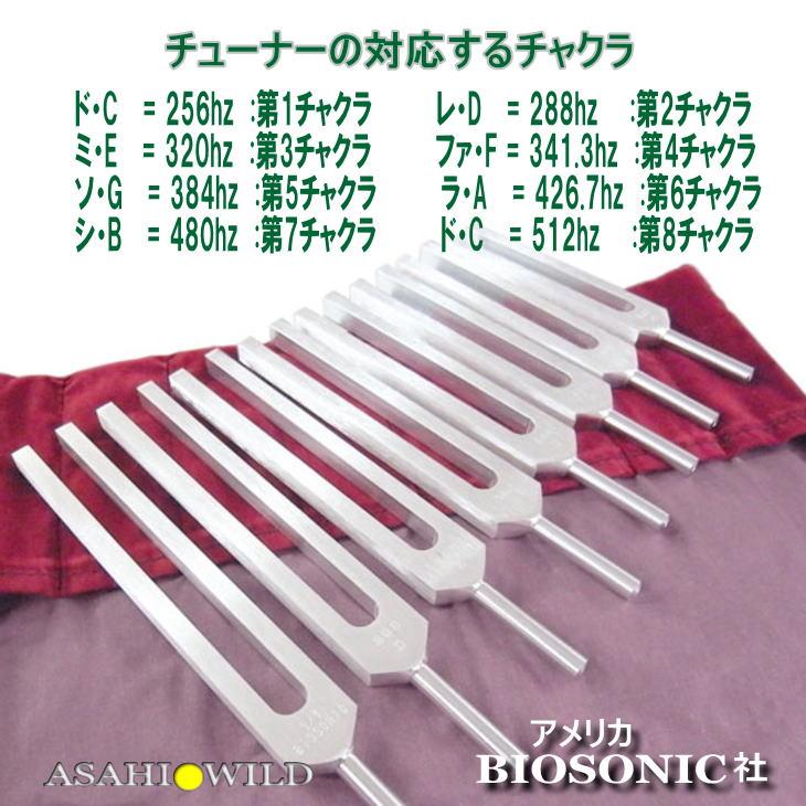 ●ソーラーハーモニック8本セット【無料配送】【BIOSONICS】【ポイント5倍】音叉