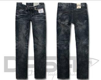 D1000AA DPSR DPSR JEANS denim pants (vintage processing)
