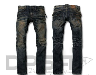 DPSR ディーピーエス r) D752A DPSR 牛仔裤牛仔长裤 (老式加工)