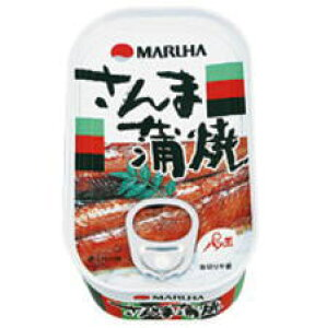 さんま蒲焼 缶詰 100g