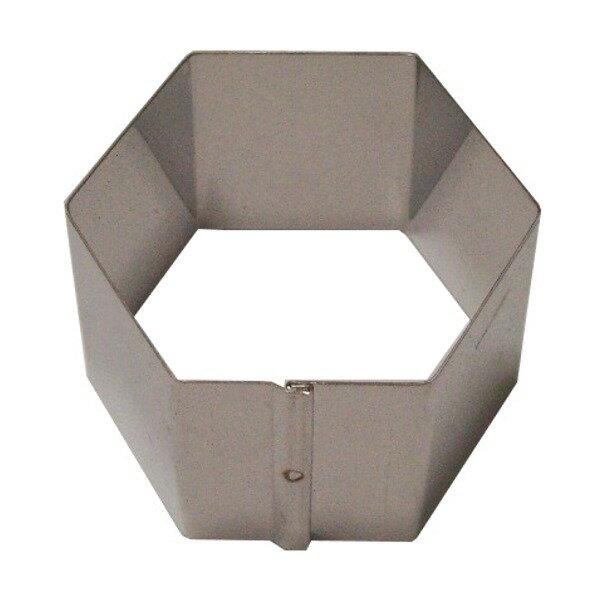 ステンレスセルクル六角型 60×H40mm
