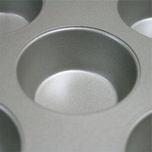 フッ素樹脂加工マフィンカップ9P