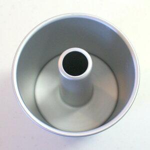 【浅井商店開発トールシフォン型第三弾!】つなぎ目のないアルミトールシフォンケーキ型12cm