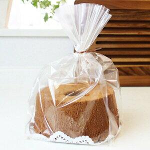 個包装袋 シフォンケーキ袋 10枚入 [XF8200]