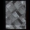 【パン袋】ヨーロピアンPP 底マチ袋(白黒) 100枚 8939 【rrr】