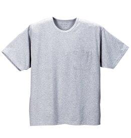 【3L・4L・5L・6L】汗染み防止半袖Tシャツ【大きいサイズ】【あす楽】【キングサイズ】【ビッグサイズ】【MC.S.P・エムシーエスピー・半袖・吸汗速乾・消臭・抗菌・胸ポケット有・汗染み防止特殊加工】