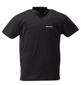 コンプレッションハイネック半袖Tシャツ Phiten (ブラック)【 3L 4L 5L 6L 8L 】【 大きいサイズ 】【 キング 】【 ビッグ 】【 ラージ 】