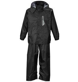 【 大きいサイズ 】透湿防水レインスーツ Mc.S.P (ブラック)【 3L 4L 5L 6L 8L 】【 キング 】【 ビッグ 】【 ラージ 】【 あす楽 】