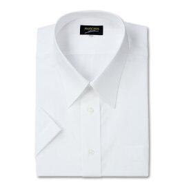 レギュラーカラー半袖シャツ (ホワイト)【 3L 4L 5L 6L 7L 8L 9L 10L 】【 大きいサイズ 】【 キング 】【 ビッグ 】【 ラージ 】【 あす楽 】