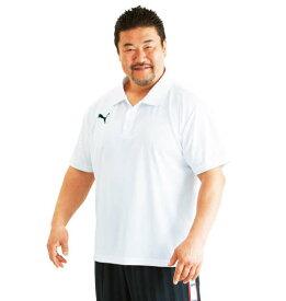 半袖ポロシャツ PUMA (ホワイト)【 3L 4L 5L 6L 】【 大きいサイズ 】【 キング 】【 ビッグ 】【 ラージ 】