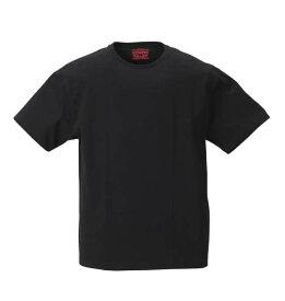 【 大きいサイズ 】2Pクルーネック半袖Tシャツ Levi's (ブラック)【 2L 3L 4L 5L 6L 8L 】【 キング 】【 ビッグ 】【 ラージ 】