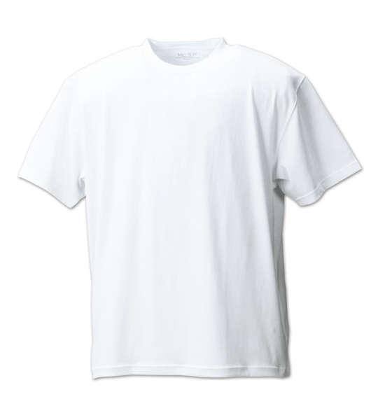 半袖 クルー Tシャツ Mc.S.P ( ホワイト ) 【 3L 4L 5L 6L 8L 10L 】【 大きいサイズ 】【 キング 】【 ビッグ 】【 ラージ 】