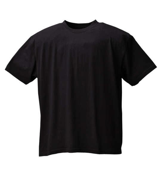 半袖 クルー Tシャツ Mc.S.P ( ブラック ) 【 3L 4L 5L 6L 8L 10L 】【 大きいサイズ 】【 キング 】【 ビッグ 】【 ラージ 】