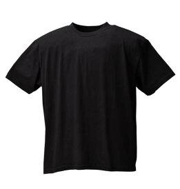 半袖 クルー Tシャツ Mc.S.P ( ブラック ) 【 3L 4L 5L 6L 8L 10L 】【 大きいサイズ 】【 キング 】【 ビッグ 】【 ラージ 】【 あす楽 】