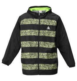 【 大きいサイズ 】ウインドジャケット LE COQ SPORTIF (ブラック)【 2L 3L 4L 5L 6L 】【 キング 】【 ビッグ 】【 ラージ 】【 送料無料 】【 あす楽 】