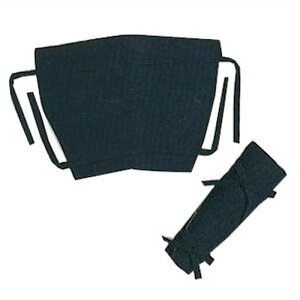 紺 脚袢 (s6526) 祭り 太鼓 衣装 脚半 きゃはん脚絆 【お取り寄せ商品 1点までメール便可】