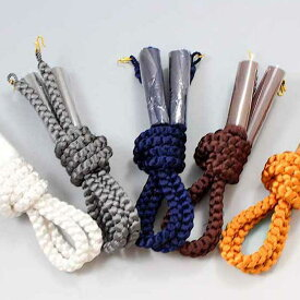 紳士羽織紐 丸組 男物 メンズ 組み紐 四つ組 はおりひも はおり紐