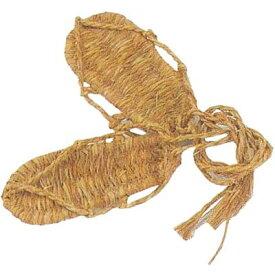 わらじ 踊り 小道具 (s6065) 日舞 日本舞踊よさこい 演劇 おどり 草履 履物 【お取り寄せ商品】