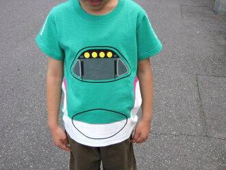 Shinkansen t-shirts (for kids) E5 series Hayabusa 05P10Jan15