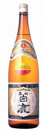 本醸造酒 上撰 黒松白鹿 1.8L