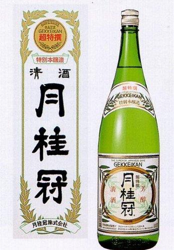 ≪超特選≫特別本醸造酒 月桂冠1.8L 〔化粧箱入り〕