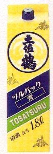 土佐鶴 良等酒(佳撰) ツルパック青 1800ml