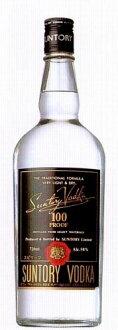 Suntory vodka 100 proof 50 degrees 720 ml