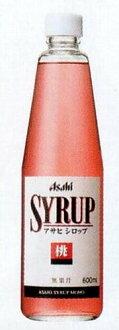 Asahi syrup (peach)