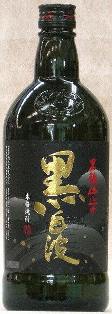 薩摩酒造 本格芋焼酎 さつま黒白波 720ml(瓶)