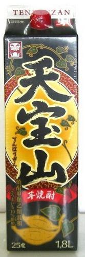 芋焼酎 天宝山 1800ml 紙パック