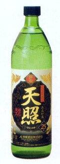 古典舞乐造酒旁边焼酎熟成貯蔵天照(tensho)900ml瓶