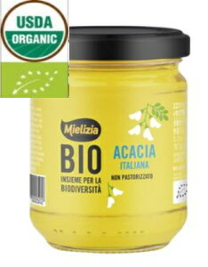 ミエリツィア BIO アカシアの有機ハチミツ 250g 3個セット【EUオーガニック規定認証品】