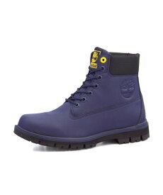 Timberland(ティンバーランド) RADFORD RUBBERIZED 6INCH WATERPROOF BOOT(ラドフォードラバライズド6インチウォータープルーフブーツ) A1R5M ダークブルー | ブーツ メンズ アウトドア メンズブーツ 防水 防水ブーツ アウトドアシューズ ティンバー カジュアルブーツ 靴