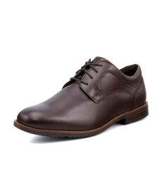 ROCKPORT ロックポート DUSTYN PLAIN TOE メンズビジネスシューズ 防水 ダスティンプレーントゥ CH2292 ココアブラウン メンズ シューズ 靴 ビジネスシューズ カジュアルシューズ レースアップ コンフォート プレーントゥ