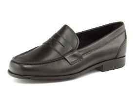 ROCKPORT(ロックポート) CLASSIC LOAFER PENNY(クラシックローファーペニー) M76443 ブラック | ビジネスシューズ メンズビジネス メンズ ビジネス シューズ 靴 くつ ビジネス靴 仕事 ワークシューズ 紳士靴 紳士 おしゃれ ビジネスマン 男性 通勤 メンズビジネスシューズ