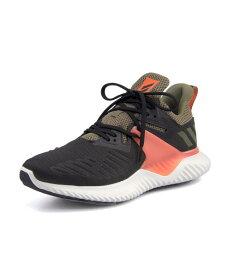 adidas(アディダス) ALPHABOUNCE BEYOND 2 M メンズスニーカー(アルファバウンスビヨンド2M) BD7099 コアブラック/コアブラック/トゥルーオレンジ