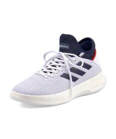adidas(アディダス) FUSIONSTORM メンズスニーカー(フュージョンストーム) F36212 ランニングホワイト/ダークブルー/アクティブレッド