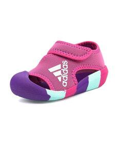 adidas(アディダス) ALTA VENTURE I ベビーサンダル(アルタベンチャーI) D97198 セミソーラーピンク/アクティブパープル/クリアミント
