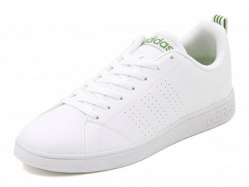 adidas(アディダス) VALCLEAN 2(バルクリーン2) F99251 ランニングホワイト/ランニングホワイト/グリーン【メンズ】 | シューズ スニーカー 靴 ローカット ローカットスニーカー メンズスニーカー メンズシューズ カジュアルシューズ カジュアル ローカットシューズ 白