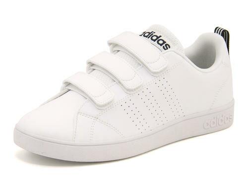adidas(アディダス) VALCLEAN2 CMF(バルクリーン2CMF) AW5211 ランニングホワイト/ランニングホワイト/カレッジネイビー【レディース】 | 靴 シューズ スニーカー レディースシューズ ローカット ローカットスニーカー レディーススニーカー 女性 レディス ブランド
